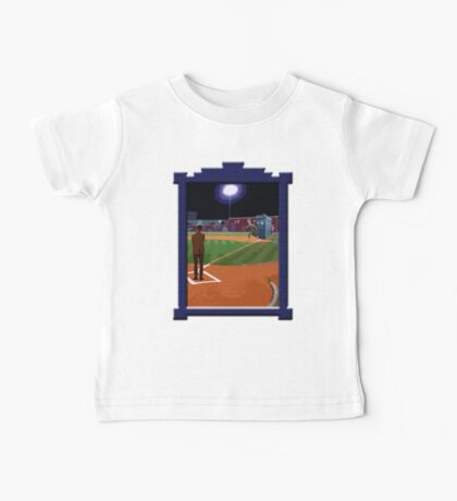 Dr. Who's on First Base Baby Tee