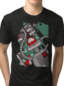 Robot Town Tri-blend T-Shirt