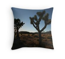 Into This Night I Wander Throw Pillow