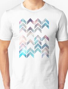 Chevron Dream 2 (Plum) Unisex T-Shirt