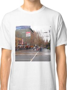 A rainy day in Melbourne VIC Australia  Classic T-Shirt