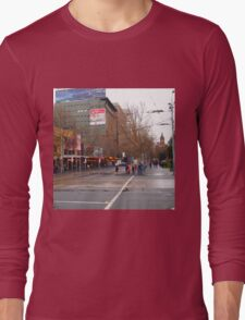 A rainy day in Melbourne VIC Australia  Long Sleeve T-Shirt