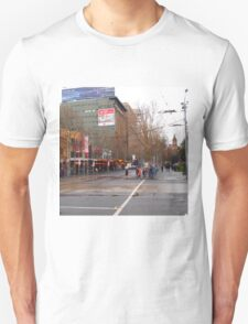 A rainy day in Melbourne VIC Australia  T-Shirt