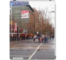 A rainy day in Melbourne VIC Australia  iPad Case/Skin