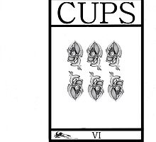 6 of Cups by Peter Simpson