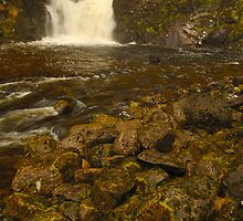 Eas Chai-aig Falls, Clunes, Highland, Scotland by James Paul