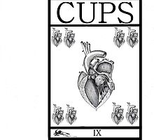 9 of Cups by Peter Simpson