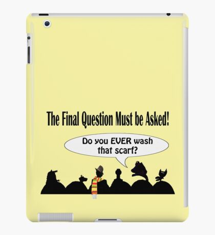 The Cosmic Question iPad Case/Skin
