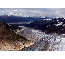 Glaciers---Rivers of Ice Photographic Print