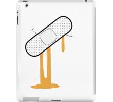 Patch Up (Orange) iPad Case/Skin