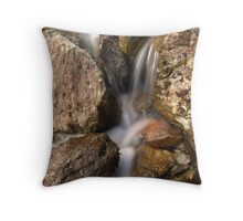 Stock Ghyll, Great Langdale, Lake District Throw Pillow