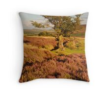Thimbleby Moor, Osmotherley, North Yorkshire Moors Throw Pillow