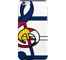Piece and Harmony in Colorado iPhone Case/Skin
