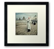 The White Knight Framed Print