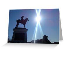 Monument at Capitol Building, Washington DC Greeting Card