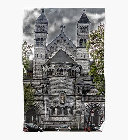 Saint John Berchmans Church Brussels Poster