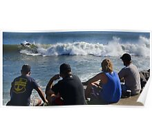 SurfWatch - Nobby's Breakwall/Hunter River NSW Poster