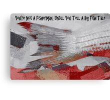 A Big Fish Tale Canvas Print