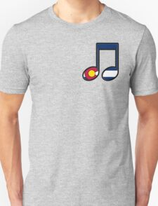 The Sound of Colorado is Music Unisex T-Shirt