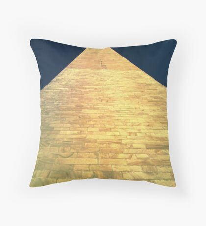 Washington Monument - Detail Throw Pillow