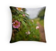 All in a Days Work Throw Pillow