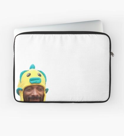 Snoop Doggy Dog Hat Laptop Sleeve