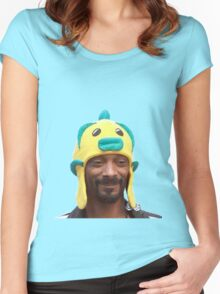 Snoop Doggy Dog Hat Women's Fitted Scoop T-Shirt