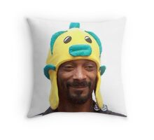 Snoop Doggy Dog Hat Throw Pillow