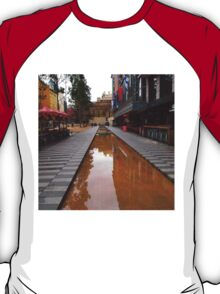 City Square on a wet day Melbourne VIC Australia T-Shirt