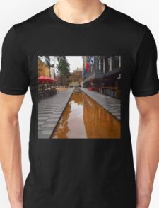 City Square on a wet day Melbourne VIC Australia Unisex T-Shirt