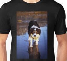 Pawprints in my heart. Unisex T-Shirt