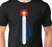 Colorado Flag Tie Unisex T-Shirt