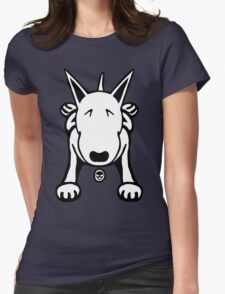 Cartoon English Bull Terrier Sprawl Tee  T-Shirt