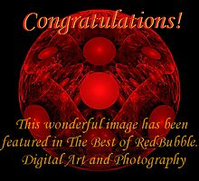 Congrats - Featured in Best of RedBubble by wolfepaw