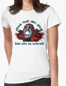 DAS TUT DIR GUT Womens Fitted T-Shirt