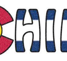 Just Chill - Colorado Sticker