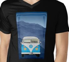 Volkswagen Bus Mens V-Neck T-Shirt