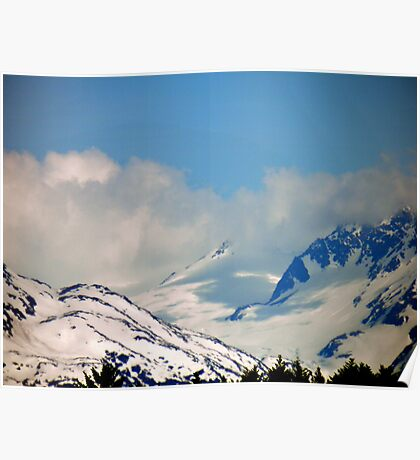 Kenai Mountains Poster