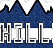 Chillin' in Colorado Sticker