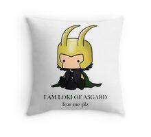 I am Loki of Asgard Throw Pillow