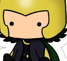 I am Loki of Asgard Sticker