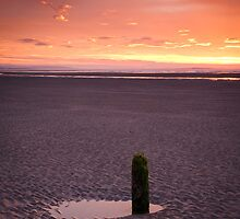 Fire in the Sky, Findorn by Christopher Thomson