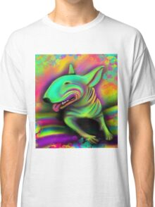 English Bull Terrier Colour Splash  Classic T-Shirt