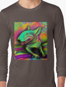 English Bull Terrier Colour Splash  Long Sleeve T-Shirt