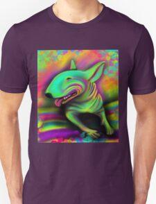 English Bull Terrier Colour Splash  T-Shirt