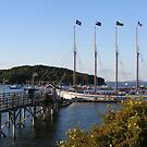 Early Fall at Bar Harbor by Monnie Ryan