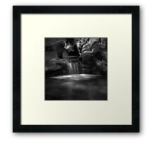 Overflow (version III) Framed Print