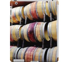 Racks of Wine Barrels iPad Case/Skin