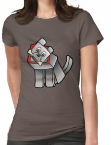 Steve's Best Friend Womens Fitted T-Shirt