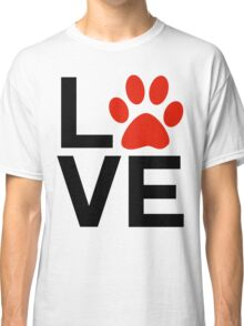 Love Dogs and/or Cats Classic T-Shirt
